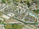 Vista del progetto per l'area EXPO
