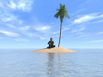 uomo-isola